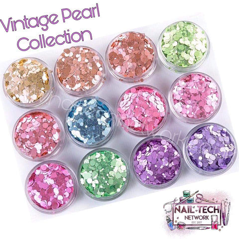 Vintage Pearl Glitter Collection