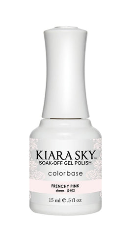 Kiara Sky Gel Polish Frenchy Pink - G402