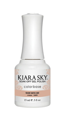 Kiara Sky Gel Polish Bare With Me - G403