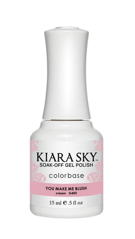Kiara Sky Gel Polish You Make Me Blush  - G405