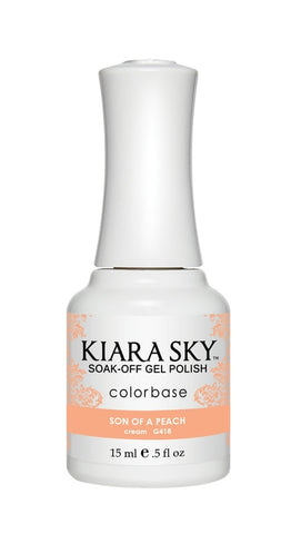 Kiara Sky Gel Polish Son Of A Peach - G418