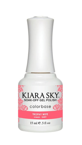 Kiara Sky Gel Polish Trophy Wife - G421