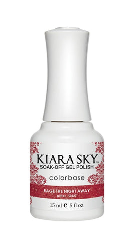 Kiara Sky Gel Polish Rage The Night Away - G427