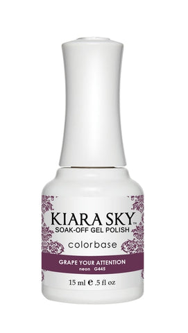 Kiara Sky Gel Polish Grape Your Attention - G445
