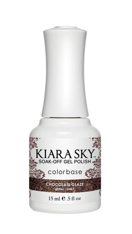 Kiara Sky Gel Polish Chocolate Glaze - G467