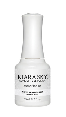 Kiara Sky Gel Polish Winter Wonderland - G469