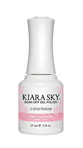 Kiara Sky Gel Polish I Pink You Anytime - G478
