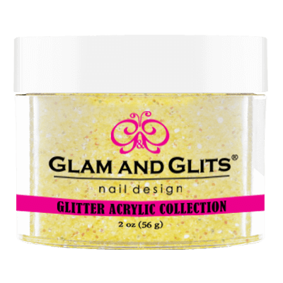 Glam & Glits Glitter Collection - Yellow crystal