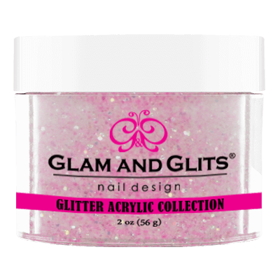 Glam & Glits Glitter Collection - Hot pink jewel