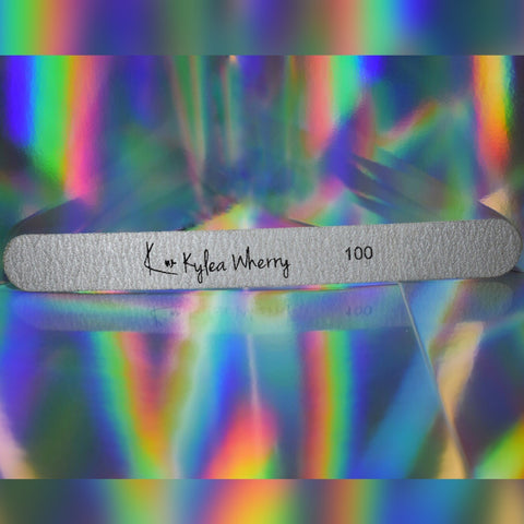 Kylea Wherry 100 grit replacement file paper