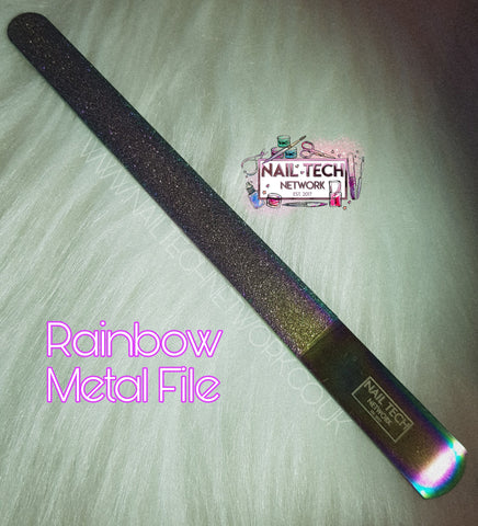Rainbow Effect Metal Nail File