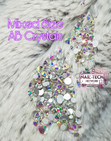 AB Mixed Size Crystals