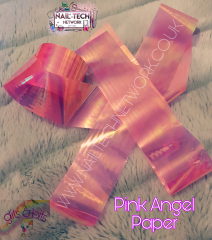Pink Angel Paper