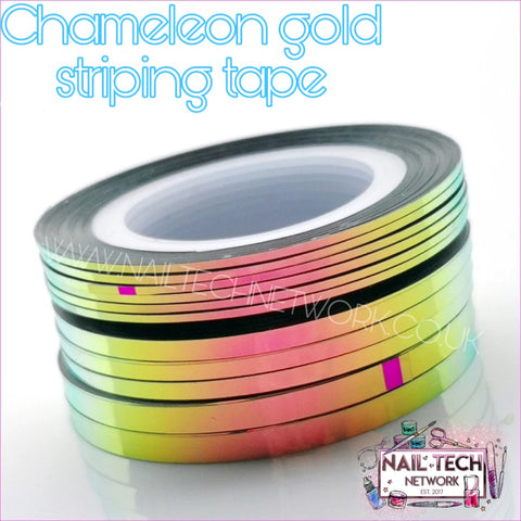 Chameleon gold striping tape