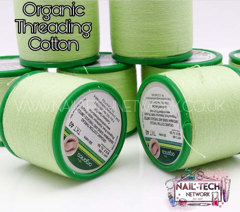 Organic threading cotton