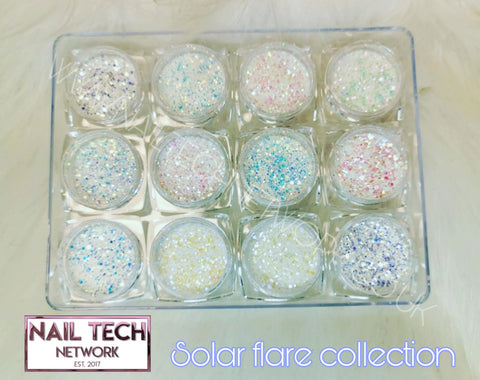 Solar Flare Glitter Collection