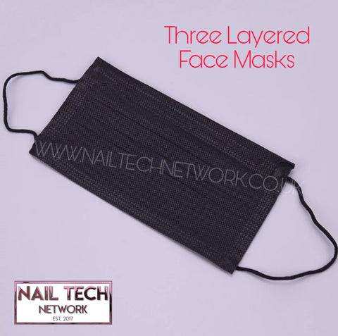 Three layer face masks 20 pack