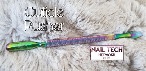 NTN Rainbow Cuticle Pusher