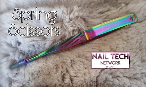 NTN Rainbow Spring Scissors