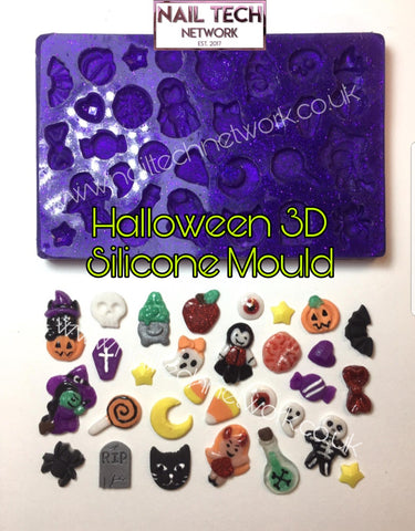 Halloween 3D Silicone Mould