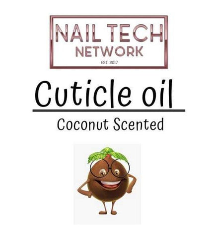 Coconut Scented Cuticle Oil