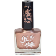 Hit the bottle stamping polish - Roseglow Gold