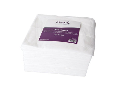 NSI disposable table towels