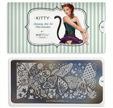 MoYou Stamping Kitty 14