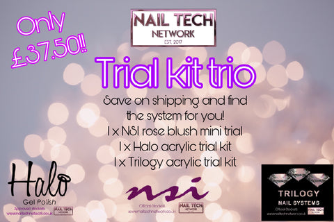 Trial Kit Trio - Acrylic!