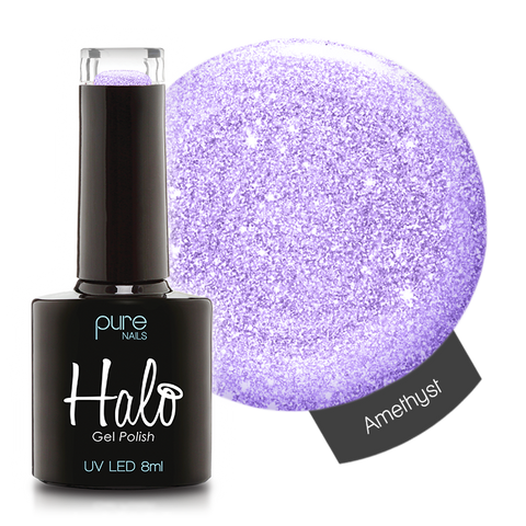 Halo Gel Polish Amethyst 8ml