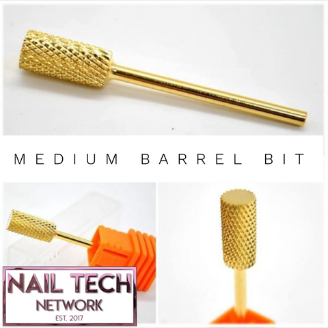 Medium barrel efile bit