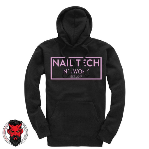 Nail Tech Network Pullover Hoodie