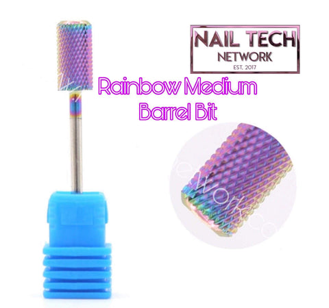 Rainbow Medium Carbide Barrel Bit