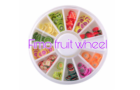 Fimo fruit wheel