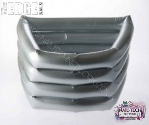The EDGE Silver Inflatable Pedi Bath
