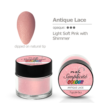 NSI Simplicité colour pot Antique Lace 7g