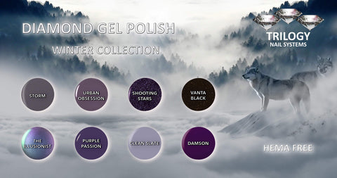 Trilogy Diamond Gel Polish Winter Collection