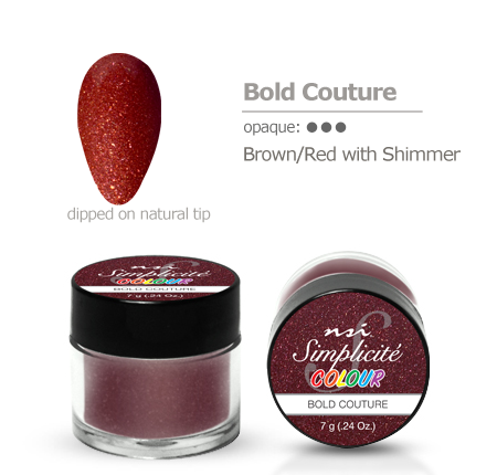 NSI Simplicité colour pot Bold Couture 7g