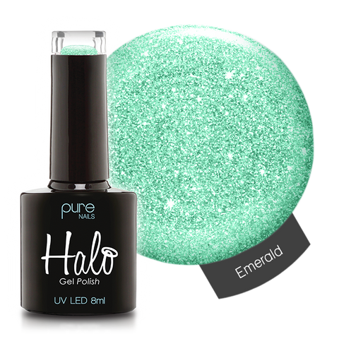 Halo Gel Polish Emerald 8ml