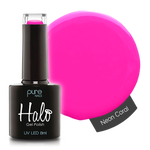 Halo Gel Polish Neon Coral 8ml