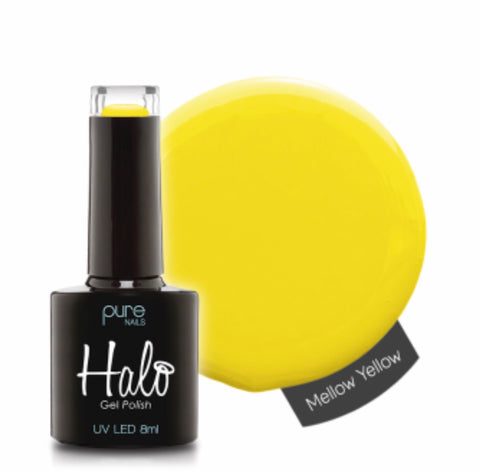 Halo Gel Polish Mellow Yellow 8ml