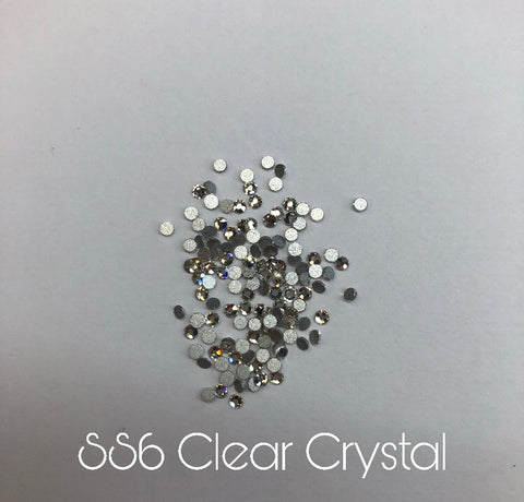 Clear Crystals ss6