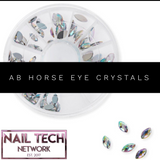 Ab horse eye crystal wheel
