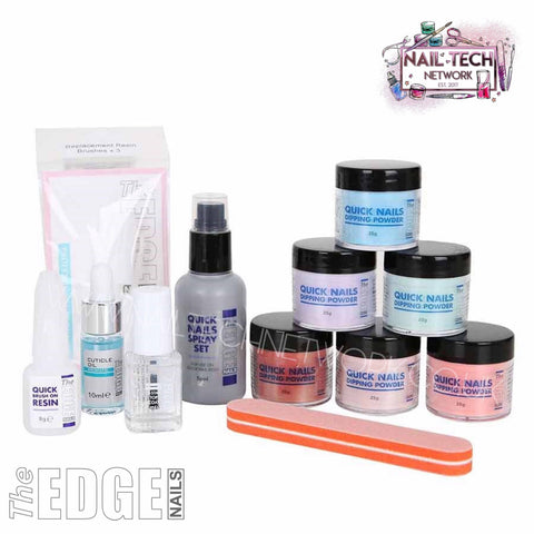 The EDGE Coloured Dipping Powder Starter Kit