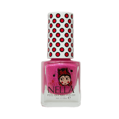 Miss Nella's Tickle Me Pink Nail Polish