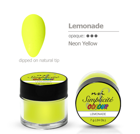 NSI Simplicité colour pot Lemonade 7g