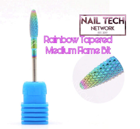 Rainbow Tapered Medium Flame Bit