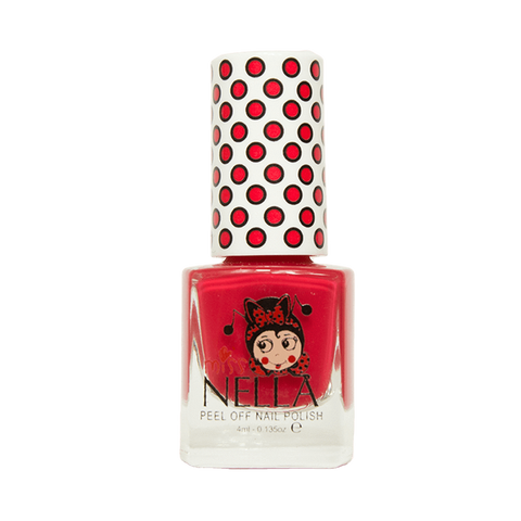 Miss Nella's Strawberry 'N' Cream Nail Polish