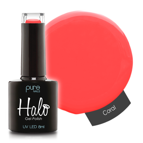 Halo Gel Polish Coral 8ml