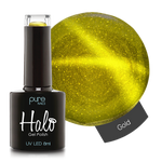 Halo Gel Polish Gold 8ml